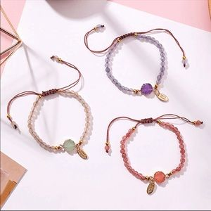 Jewelry - Handmade Natural Stone Bracelets